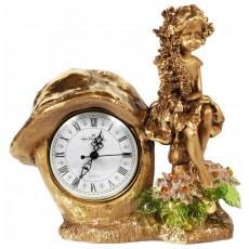 Часы Лесная фея, с хрустальными цветами CDA 6016 ROS