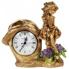 Часы Лесная фея, с хрустальными цветами CDA 6016 VL