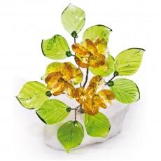 Букет цветов на мраморе V1003/10 LT TOP