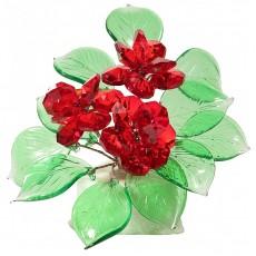 Букет цветов на мраморе V1003/10 RED
