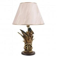 Настольная лампа Каллы сборный букет, бежевый абажур МК 7023 BG