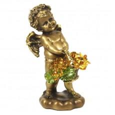 Ангел с корзиной хрустальных цветов CDA 6008 LT TOP