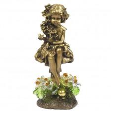 Лесная фея с хрустальными цветами CDA 6015 LM