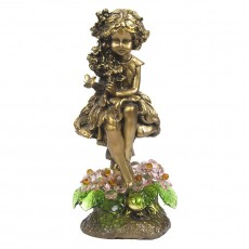 Лесная фея с хрустальными цветами CDA 6015 ROS