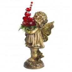Маленькая фея с хрустальными цветами CDA 6014 RED