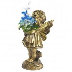 Маленькая фея с хрустальными цветами CDA 6014 СR AG