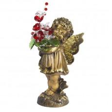 Маленькая фея с хрустальными цветами CDA 6014 СR R