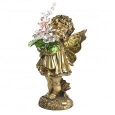 Маленькая фея с хрустальными цветами CDA 6014 СR ROS
