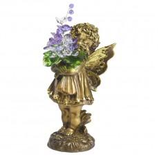 Маленькая фея с хрустальными цветами CDA 6014 СR VL