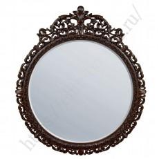 Зеркало круглое (с фацетом) EL 8207 итальянский орех