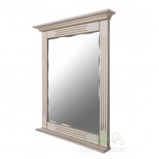 Зеркало с полочкой Валенсия EL 5009 слоновая кость + золото