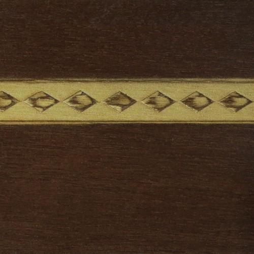 022 Краситель Шоколад (гладкий шпон) Патина золото