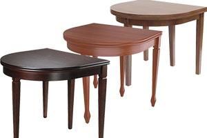 Полукруглые обеденные столы