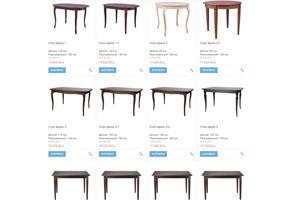Все обеденные столы